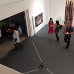 4_Minha LEE_opening view at gallery HIRAWATA_2013